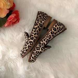 Sperry Shoes - Sperry Leopard Print Calf Hair Loafers